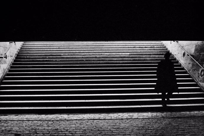 "Photo exhibition ""Solitudes"" at the Brooklyn bar Paris"